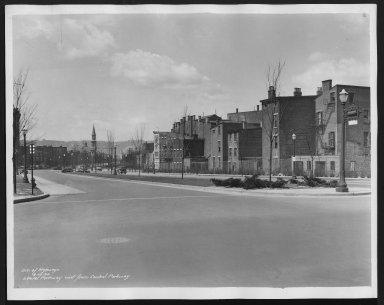 Street Improvement Photographs -- Box 25, Folder 47 (Laurel Parkway) -- print, 1934-04-16