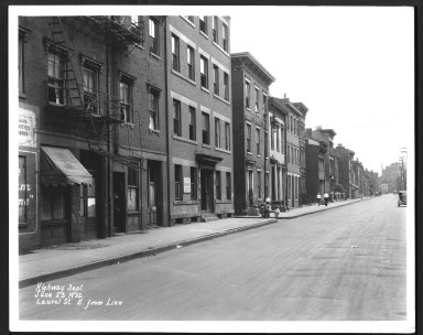 Street Improvement Photographs -- Box 25, Folder 50 (Laurel Street) -- print, 1932-06-23