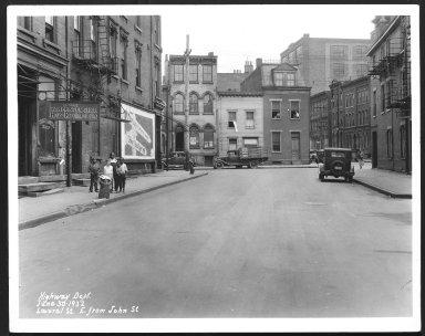 Street Improvement Photographs -- Box 25, Folder 50 (Laurel Street) -- print, 1932-06-30