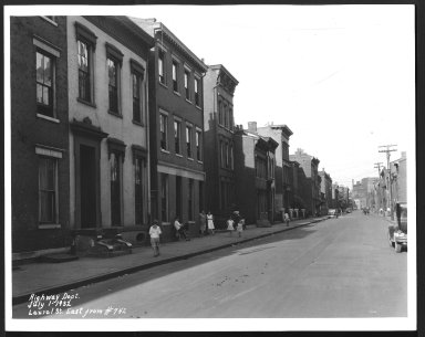 Street Improvement Photographs -- Box 25, Folder 51 (Laurel Street) -- print, 1932-07-01