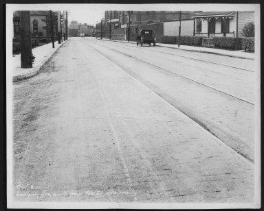 Street Improvement Photographs -- Box 26, Folder 02 (Lockland Avenue) -- print, 1927-09-08