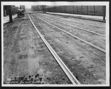 Street Improvement Photographs -- Box 26, Folder 03 (Lockland Avenue) -- print, 1927-03-10