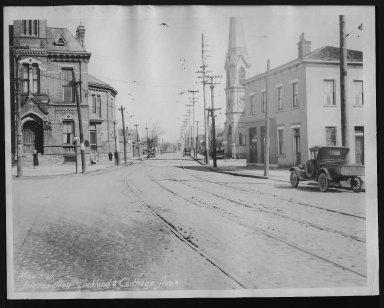 Street Improvement Photographs -- Box 26, Folder 03 (Lockland Avenue) -- print, 1927-03-03