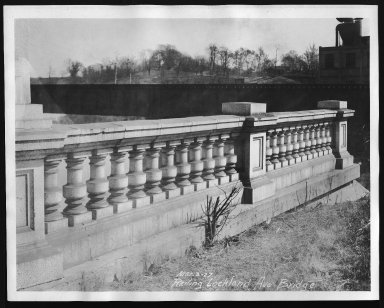 Street Improvement Photographs -- Box 26, Folder 04 (Lockland Avenue Bridge) -- print, 1927-03-03