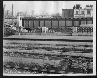 Street Improvement Photographs -- Box 26, Folder 04 (Lockland Avenue Bridge) -- print, 1927-03-10