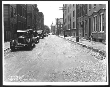 Street Improvement Photographs -- Box 26, Folder 05 (Logan Street) -- print, 1932-07-08
