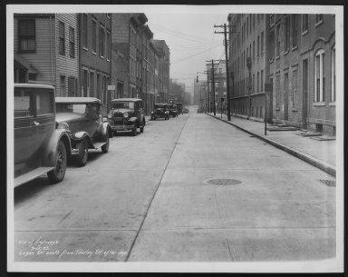 Street Improvement Photographs -- Box 26, Folder 05 (Logan Street) -- print, 1933-03-15