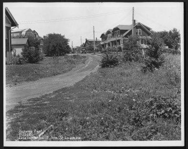 Street Improvement Photographs -- Box 26, Folder 16 (Lusitania Avenue) -- print, 1932-07-12