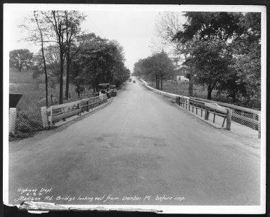 Street Improvement Photographs -- Box 26, Folder 21 (Madison Road) -- print, 1931-06-08