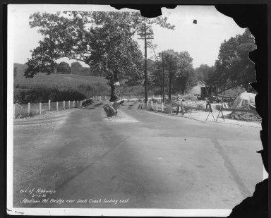 Street Improvement Photographs -- Box 26, Folder 21 (Madison Road) -- print, 1931-09-17