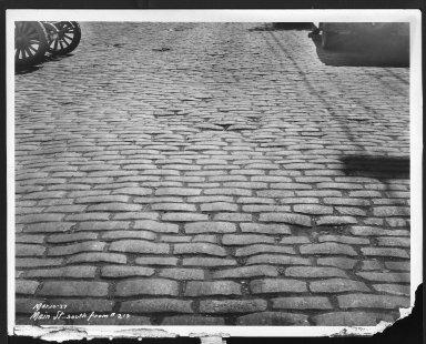 Street Improvement Photographs -- Box 26, Folder 25 (Main Street) -- print, 1927-03-10