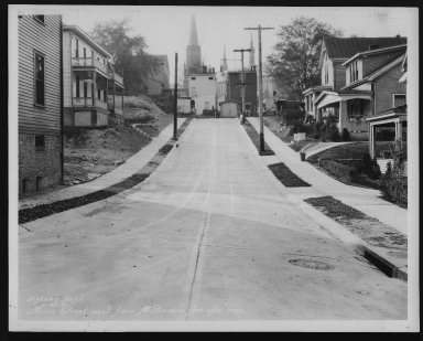 Street Improvement Photographs -- Box 26, Folder 32 (Maria Street) -- print, 1930-09-30