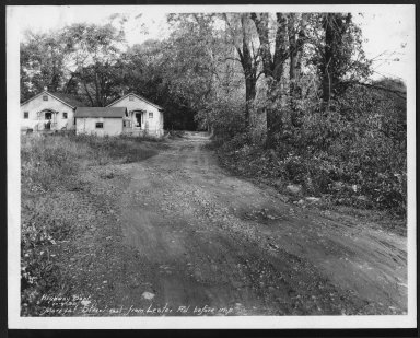 Street Improvement Photographs -- Box 26, Folder 33 (Marryat Street) -- print, 1930-10-09