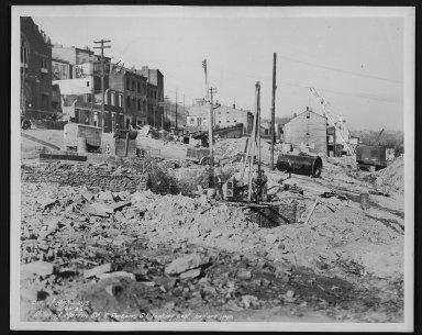 Street Improvement Photographs -- Box 26, Folder 34 (Martin Street) -- print, 1936-11-30