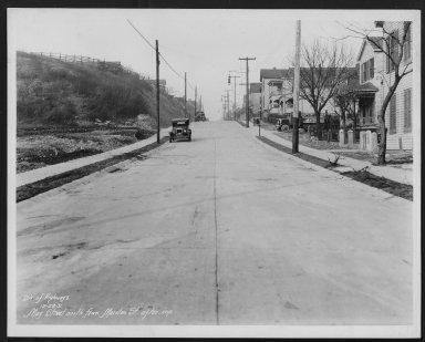 Street Improvement Photographs -- Box 26, Folder 36 (May Street) -- print, 1931-12-28