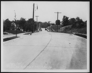 Street Improvement Photographs -- Box 26, Folder 44 (McKeone Avenue) -- print, 1930-05-14