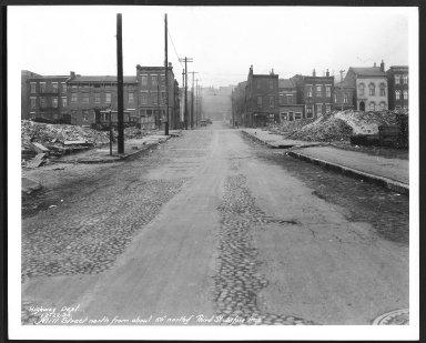 Street Improvement Photographs -- Box 26, Folder 62 (Mill Street) -- print, 1930-12-22
