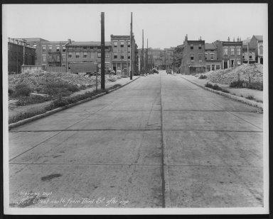 Street Improvement Photographs -- Box 26, Folder 62 (Mill Street) -- print, 1931-07-08