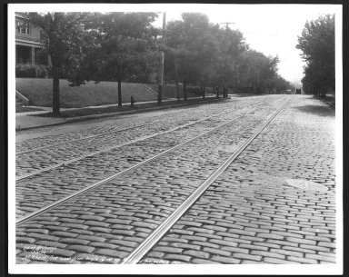 Street Improvement Photographs -- Box 26, Folder 66 (Mitchell Avenue) -- print, 1934-07-05