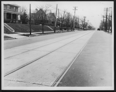 Street Improvement Photographs -- Box 26, Folder 66 (Mitchell Avenue) -- print, 1935-02-15