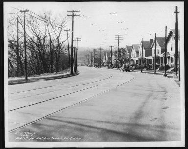 Street Improvement Photographs -- Box 26, Folder 66 (Mitchell Avenue) -- print, 1935-01-15