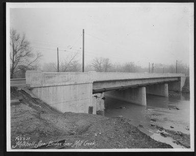 Street Improvement Photographs -- Box 26, Folder 67 (Mitchell Avenue) -- print, 1927-02-09
