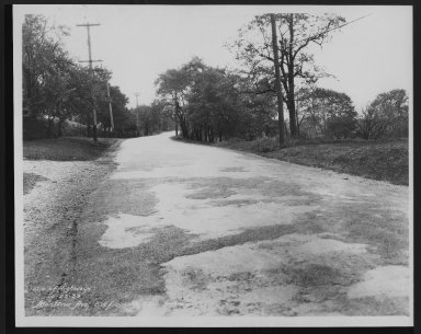 Street Improvement Photographs -- Box 27, Folder 04 (Montana Avenue) -- print, 1933-10-23