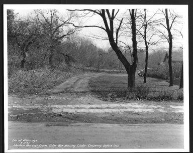 Street Improvement Photographs -- Box 27, Folder 21 (Norham Avenue) -- print, 1937-03-05