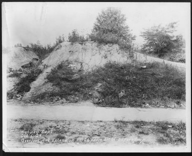 Street Improvement Photographs -- Box 27, Folder 50 (Overlook Avenue Extension) -- print, 1929-10-05