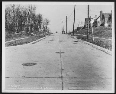 Street Improvement Photographs -- Box 27, Folder 56 (Pandora Avenue) -- print, 1938-02-01