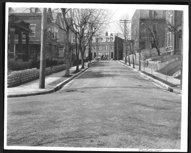 Street Improvement Photographs -- Box 27, Folder 60 (Parker Avenue) -- print, 1918-02-26
