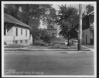 Street Improvement Photographs -- Box 27, Folder 61 (Paxton Road) -- print, 1937-10-14