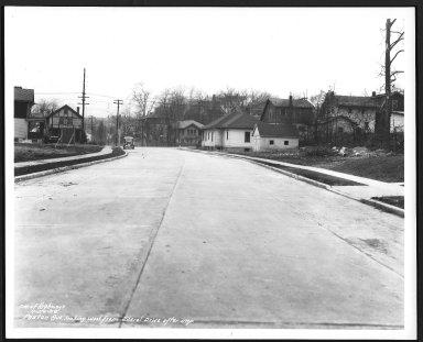 Street Improvement Photographs -- Box 27, Folder 61 (Paxton Road) -- print, 1938-01-20