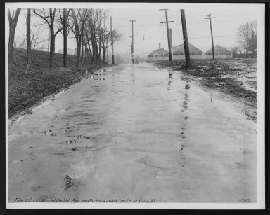 Street Improvement Photographs -- Box 27, Folder 63 (Pedretti Avenue) -- print, 1929-02-25