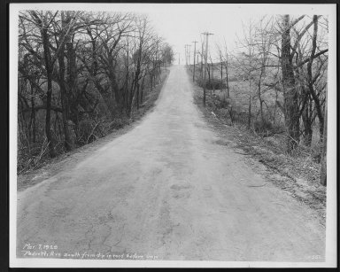Street Improvement Photographs -- Box 27, Folder 63 (Pedretti Avenue) -- print, 1929-03-07