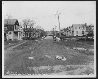 Street Improvement Photographs -- Box 27, Folder 64 (Pembrook Avenue) -- print, 1929-04-09