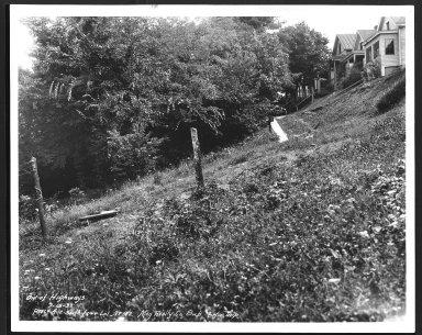 Street Improvement Photographs -- Box 27, Folder 66 (Percy Avenue) -- print, 1932-07-15