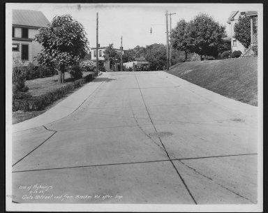 Street Improvement Photographs -- Box 27, Folder 66 (Percy Avenue) -- print, 1933-06-19