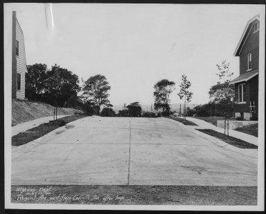 Street Improvement Photographs -- Box 28, Folder 08 (Regent Avenue) -- print, 1930-06-10
