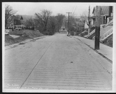 Street Improvement Photographs -- Box 28, Folder 28 (Rosemont Avenue) -- print, 1929-03-09