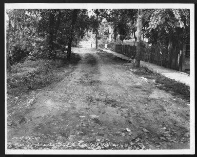 Street Improvement Photographs -- Box 28, Folder 28 (Rosemont Avenue) -- print, 1930-09-19