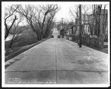 Street Improvement Photographs -- Box 28, Folder 28 (Rosemont Avenue) -- print, 1931-11-30
