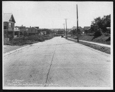 Street Improvement Photographs -- Box 28, Folder 32 (Rutledge Avenue) -- print, 1931-09-24