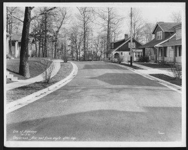 Street Improvement Photographs -- Box 28, Folder 35 (Saybrook Avenue) -- print, 1931-12-17
