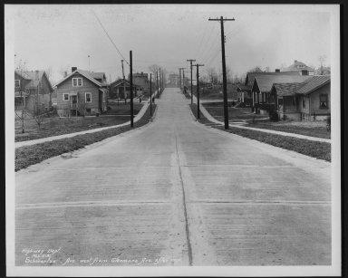 Street Improvement Photographs -- Box 28, Folder 38 (Schwartze Avenue) -- print, 1931-02-06