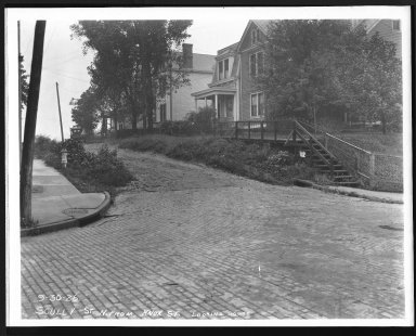 Street Improvement Photographs -- Box 28, Folder 39 (Scully Street) -- print, 1926-09-30
