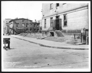 Street Improvement Photographs -- Box 28, Folder 40 (Seventh Street) -- print, 1933-09-13