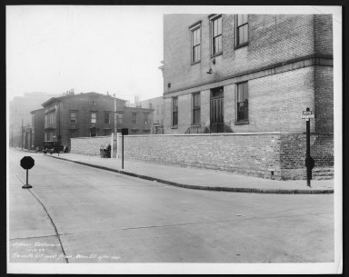 Street Improvement Photographs -- Box 28, Folder 40 (Seventh Street) -- print, 1933-12-12