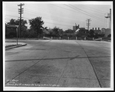 Street Improvement Photographs -- Box 28, Folder 43 (Seventy-Third Street) -- print, 1932-09-02