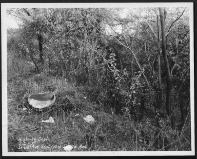 Street Improvement Photographs -- Box 28, Folder 50 (Shields Avenue) -- print, 1929-10-11